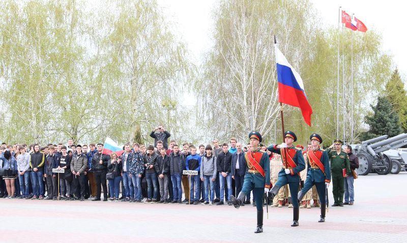 Волгоградские призывники дали клятву на верность Родине